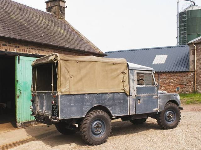 1956 Land Rover Series One 107 Pickup