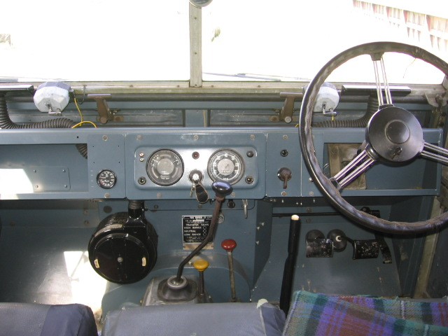 1956 Land Rover Series One 107 Dashboard