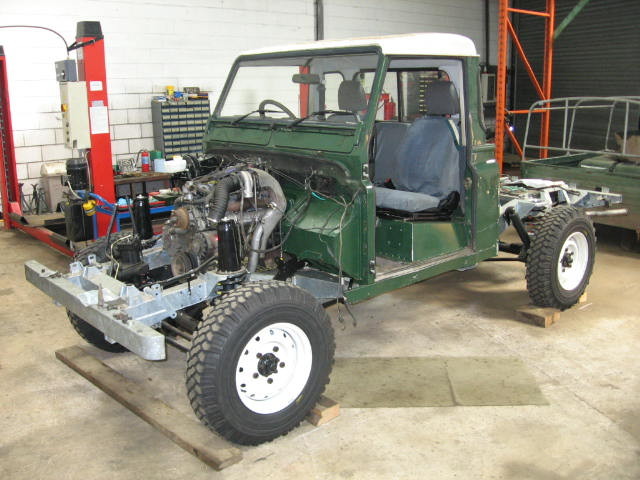 1993 Land Rover 110 Replacement Chassis
