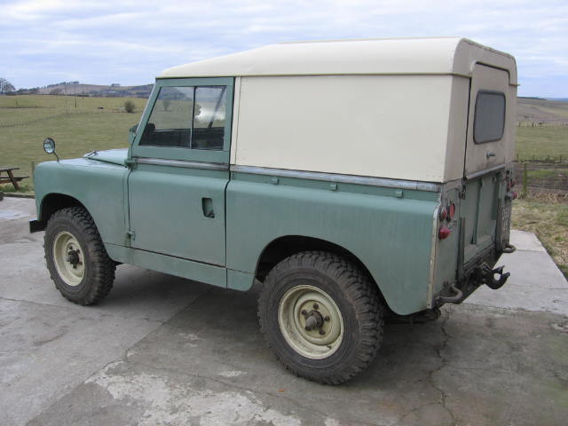 1959 Land Rover Series Two