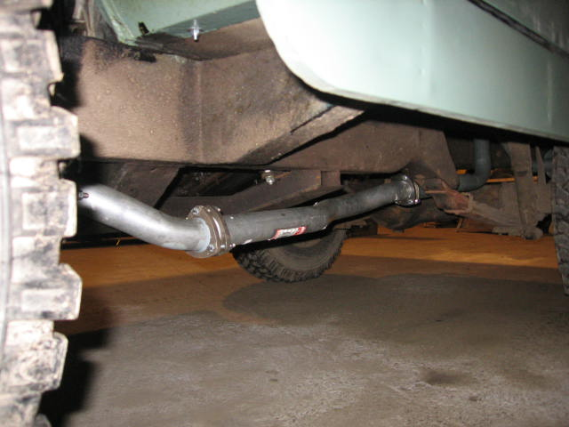 Land Rover Series Two 200Tdi Exhaust System