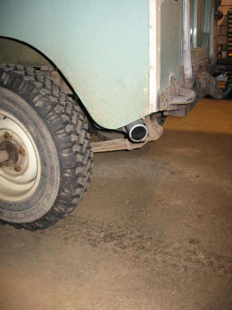 Land Rover Series Two Tdi Exhaust Tailpipe