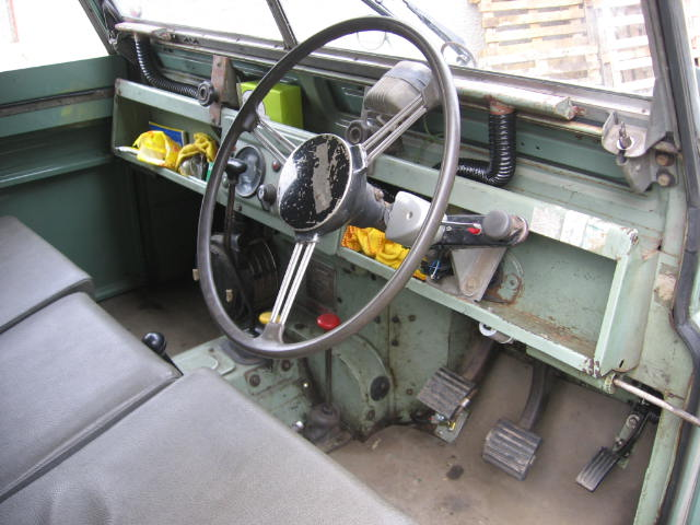 1959 Land Rover Series Two Dashboard
